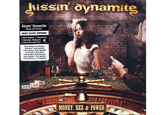 Kissin' Dynamite - Money, Sex & Power (Ltd.Digipak) [CD]