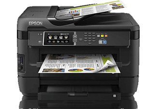 EPSON WorkForce WF-7620DTWF, 4-in-1 Tinten-Multifunktionsdrucker, Schwarz