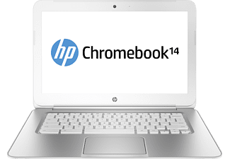 HP Chromebook 14-Q030EG, Chromebook, Ano Silver, Snow White