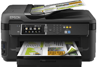 EPSON WorkForce WF-7610DWF, 4-in-1 Tinten-Multifunktionsdrucker, Schwarz