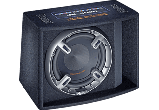 MAC-AUDIO Destroyer JK 3000, Bassreflex-Subwoofer mit 300 mm Basstreiber, Schwarz