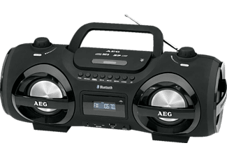 AEG. SR 4359 CD Player (Schwarz)