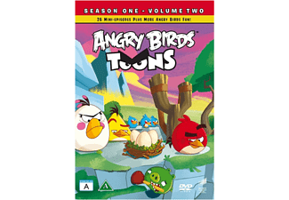 Angry Birds Toons S1 Vol 2 Barn Blu-ray