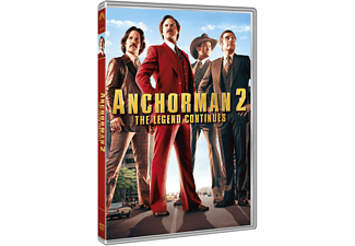 Anchorman 2 Komedi DVD