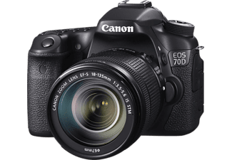 CANON Appareil photo reflex EOS 70D + 18-135mm (8469B039AB)
