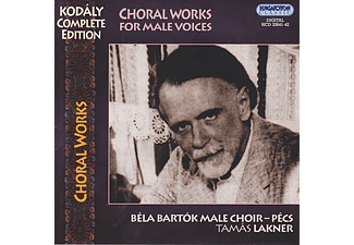 Bartók Béla Férfikar - Choral Works for Male Voices (CD)