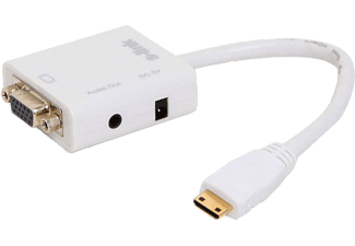 S-LINK SL-MHVS15 Mini HDMI to VGA+Audio Çevirici