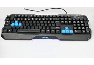 E-BLUE Polygon keyboard