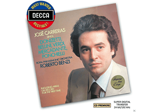 Royal Philharmonic Orchestra, José Carreras, Benzi Roberto - Jose Carreras Sings Arias (Dmwr) - (CD)
