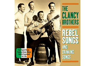 Clancy Brothers - Rebel Songs And Drinking Songs (CD)
