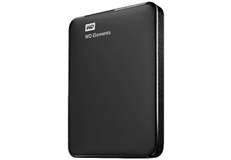 WD Elements Portable 750GB Zwart