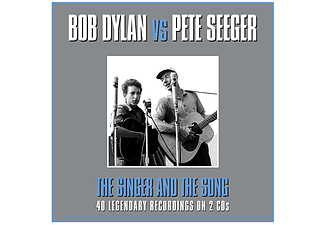 Bob Dylan vs Pete Seeger - The Singer and The Song (CD)