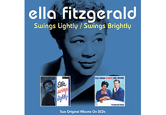 Ella Fitzgerald - Swings Lightly / Swings Bright (CD)