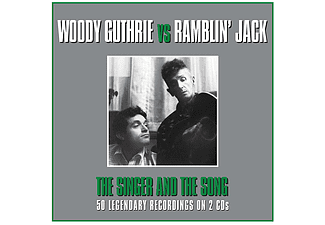 Woody Guthrie vs Ramblin' Jack - The Singer and The Song (CD)