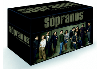 Sopranos Complete Collection Drama DVD