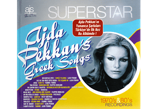JET PLAK Ajda Pekkan's Greek Songs - Superstar CD + Kitap
