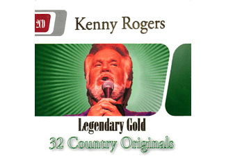 JET PLAK Kenny Rogers : 32 Country Originals 2 CD