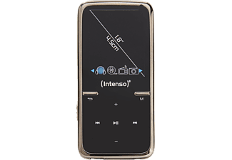 INTENSO 3717460 Video Scooter MP3 VideoPlayer (8 GB, Schwarz)