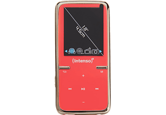 INTENSO 3717463 Video Scooter MP3 VideoPlayer (8 GB, Pink)