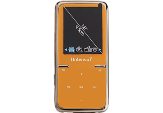 INTENSO 3717465 Video Scooter MP3 VideoPlayer (8 GB, Orange)