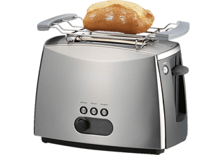 GASTROBACK 42404 Design Advanced Toaster Silber (960 Watt, Schlitze: 2)