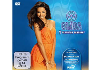 Fernanda Brandao, Various - Ginga Deluxe [CD + DVD Video]