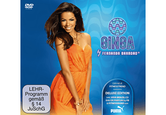 Fernanda Brandao, Various - Ginga Deluxe - (CD + DVD Video)