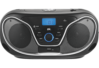 ok orc 310 b stereo radio mit cd player schwarz mediamarkt. Black Bedroom Furniture Sets. Home Design Ideas