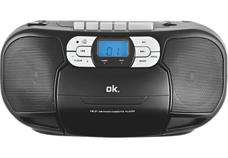 Ok cd player orc 500 mit kassettendeck mediamarkt for Unterschrank radio mit cd