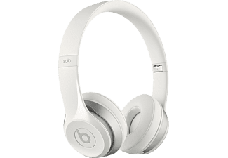 BEATS Solo 2, On-ear Kopfhörer, Headsetfunktion, kabelgebunden, Weiß