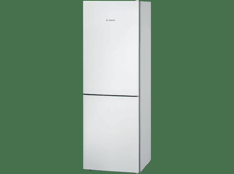 BOSCH KGV33VW31 Kühlgefrierkombination (A++, 219 KWh, 1760 Mm Hoch, Weiß)