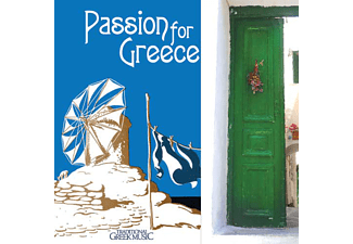 JET PLAK Passion for Greece CD