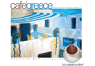 JET PLAK Cafe Greece Tradational Hellenic Musics CD