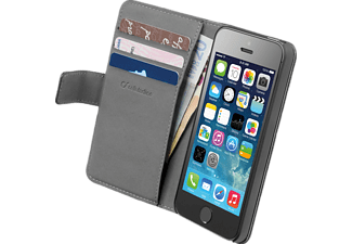 CELLULAR LINE 35658, Bookcover, iPhone 5, iPhone 5s, iPhone SE, Schwarz