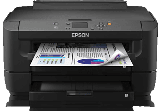 EPSON WorkForce WF-7110DTW, Tintenstrahldrucker, Schwarz