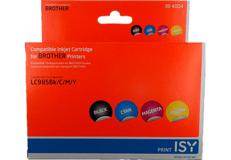 ISY IBI-4004 MULTIPACK 4 BROTHER LC 985 4 couleurs