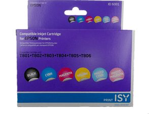 ISY IEI-6001 MULTIPACK 6 EPSON T801-T806 6 couleurs