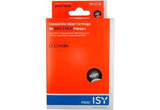 ISY 1236107 IBI 1016 Brother LC1240 Svart