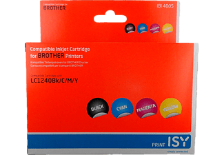 ISY 1236110 IBI 4005 Multipack 4 Brother LC1240 (BK/C/M/Y)