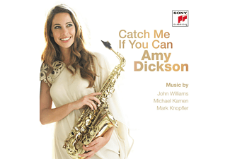 Amy Dickson - Catch Me If You Can [CD]