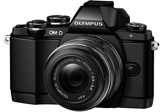 OLYMPUS E-M10 + 14-42mm kit Zwart