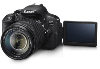 CANON EOS 700D Kit + EF-S 18-135