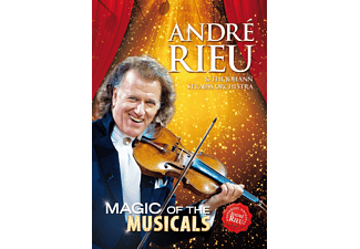 André Rieu;The Johann Strauss Orchestra - Magic Of The Musicals [DVD + Video Album]