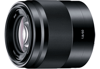 SONY E 50mm f/1.8 OSS Svart