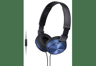MDR-ZX310AP on-ear hoofdtelefoon, Blauw