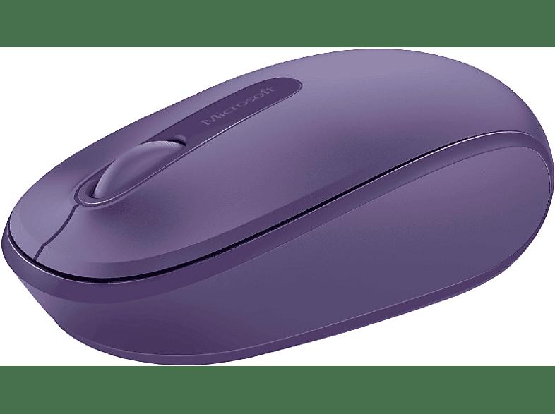 MICROSOFT Wireless Mobile Mouse 1850 Purple - (U7Z-00044) laptop  tablet  computing  περιφερειακά πληκτρολόγια   ποντίκια