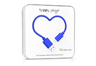 HAPPY PLUGS Lightning till USB-kabel - Blå