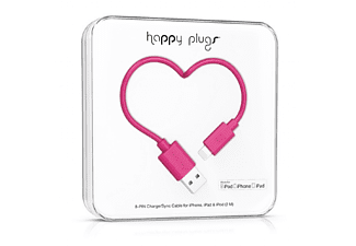 HAPPY PLUGS Lightning till USB-kabel - Cerise