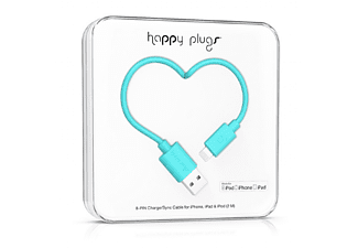 HAPPY PLUGS Lightning till USB-kabel - Turkos