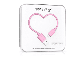 HAPPY PLUGS Lightning till USB-kabel - Rosa